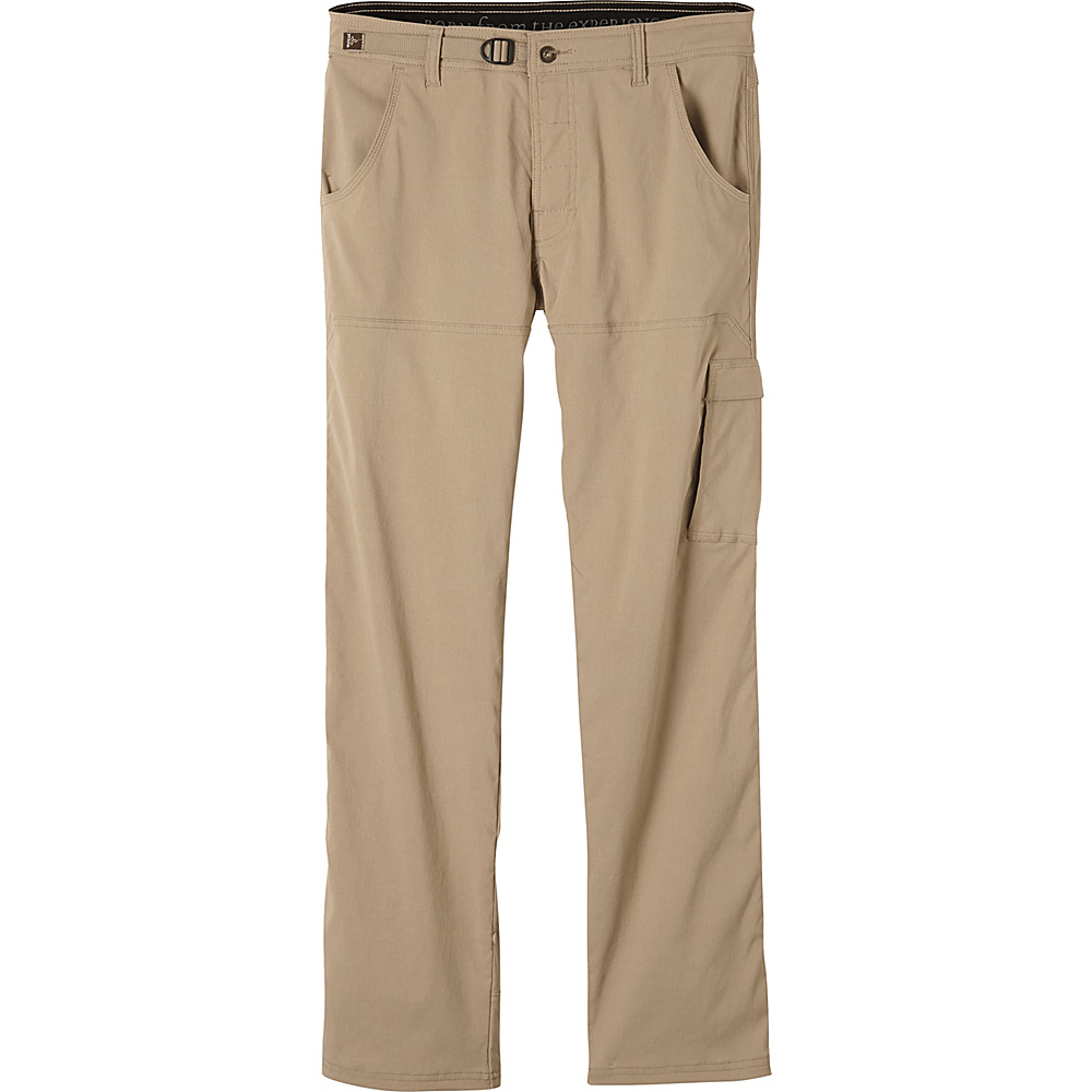 PrAna Stretch Zion Pants - 30 Inseam 36 - Cargo Green - PrAna Mens Apparel - Apparel & Footwear, Men's Apparel