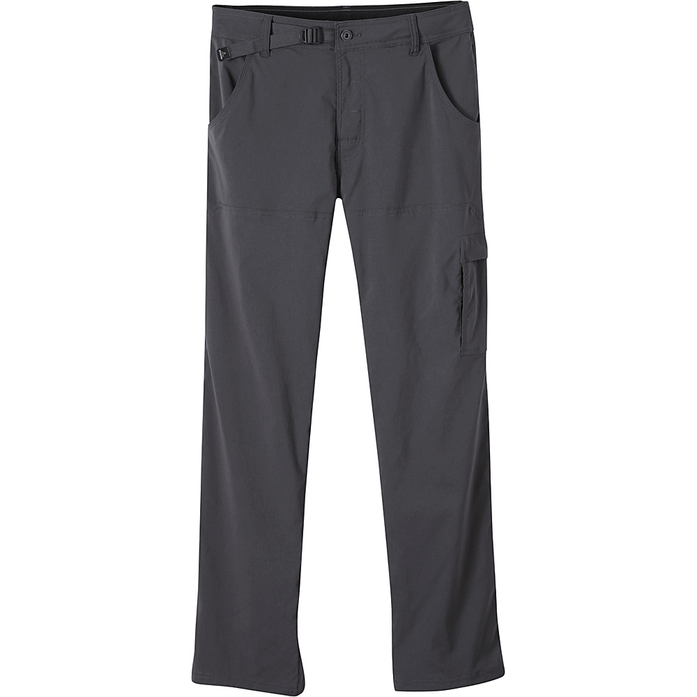 PrAna Stretch Zion Pants - 30 Inseam 38 - Charcoal - PrAna Mens Apparel - Apparel & Footwear, Men's Apparel