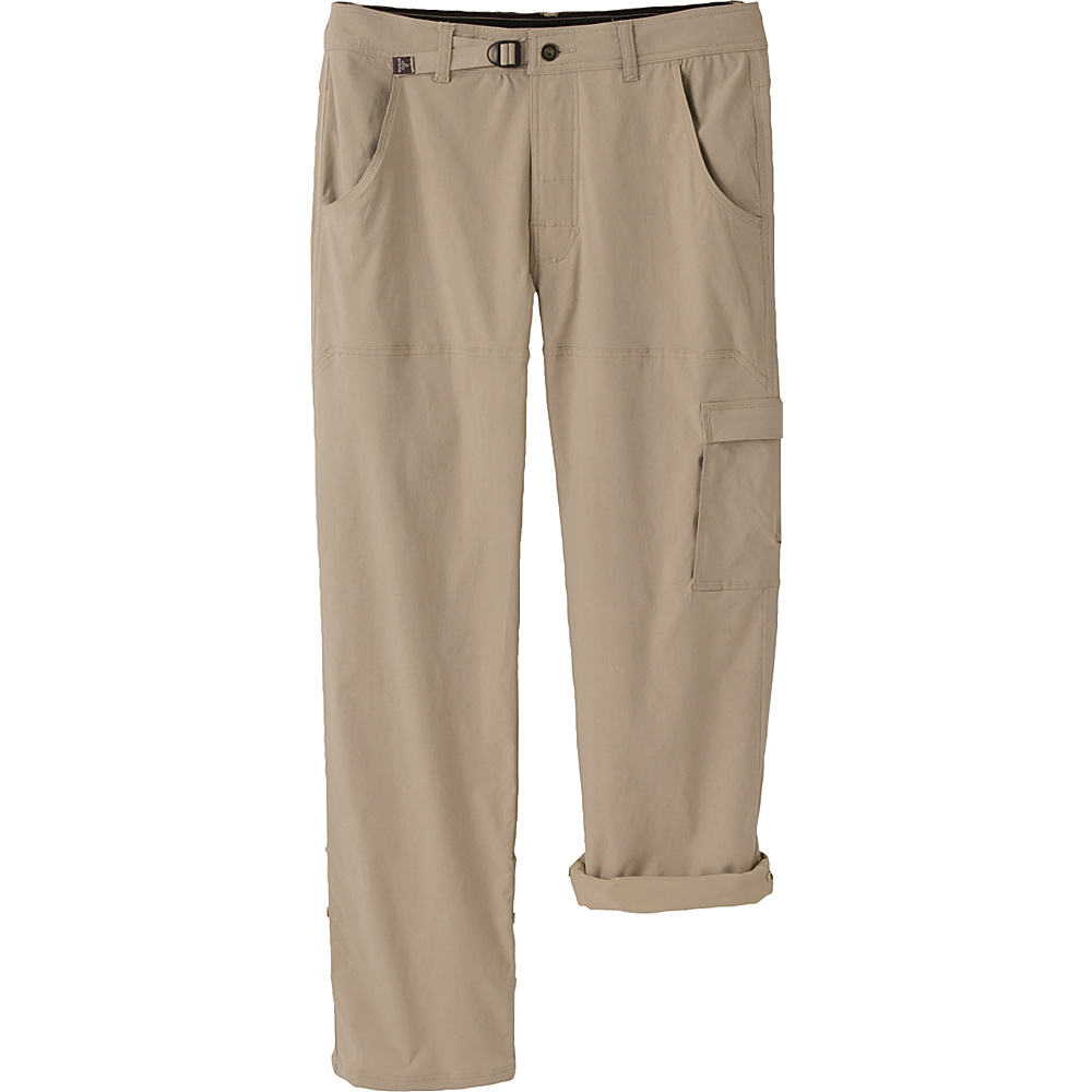 PrAna Stretch Zion Pants - 30 Inseam 34 - Dark Khaki - PrAna Mens Apparel - Apparel & Footwear, Men's Apparel