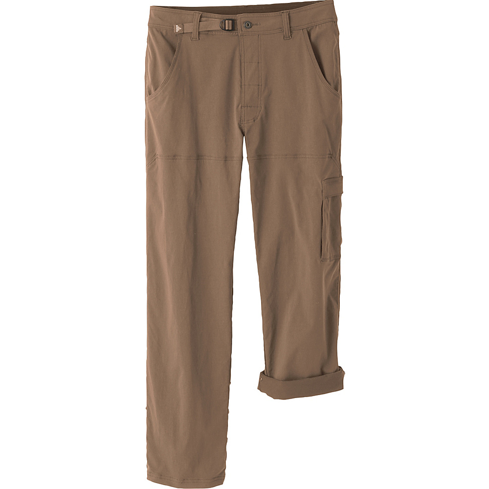 PrAna Stretch Zion Pants - 30 Inseam 36 - Mud - PrAna Mens Apparel - Apparel & Footwear, Men's Apparel