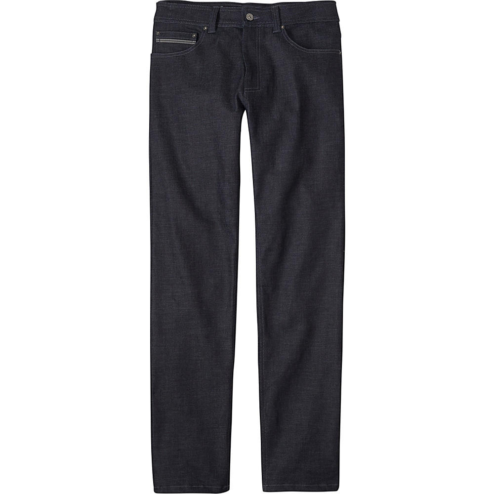 PrAna Theorem Slim Fit Jeans - 32 Inseam 28 - Indigo Raw - PrAna Mens Apparel - Apparel & Footwear, Men's Apparel