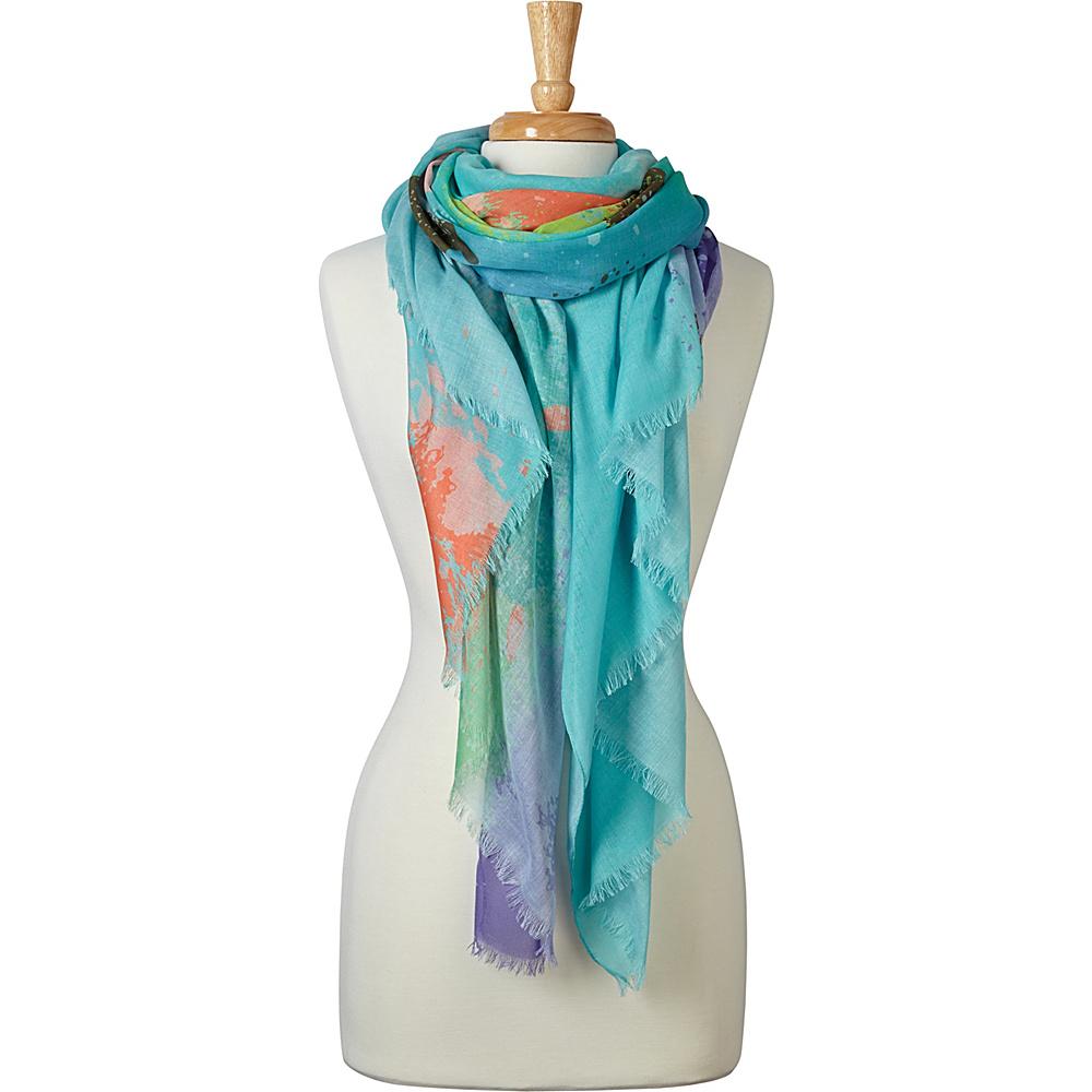 PrAna Alesso Scarf Aquamarine - PrAna Hats/Gloves/Scarves - Fashion Accessories, Hats/Gloves/Scarves