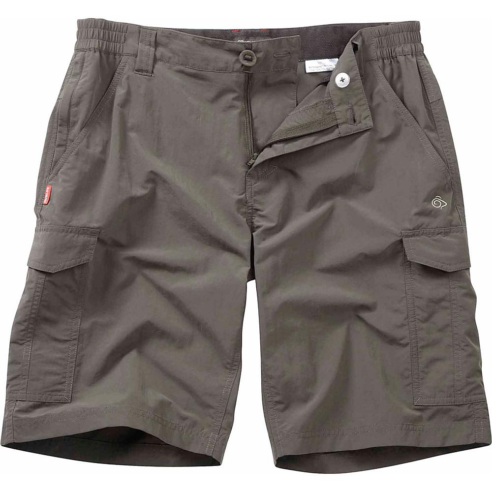 Craghoppers Nosilife Cargo Short 42 - Bark - Craghoppers Mens Apparel - Apparel & Footwear, Men's Apparel