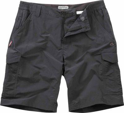 Craghoppers Nosilife Cargo Short 34 - Black Pepper - Craghoppers Men's Apparel
