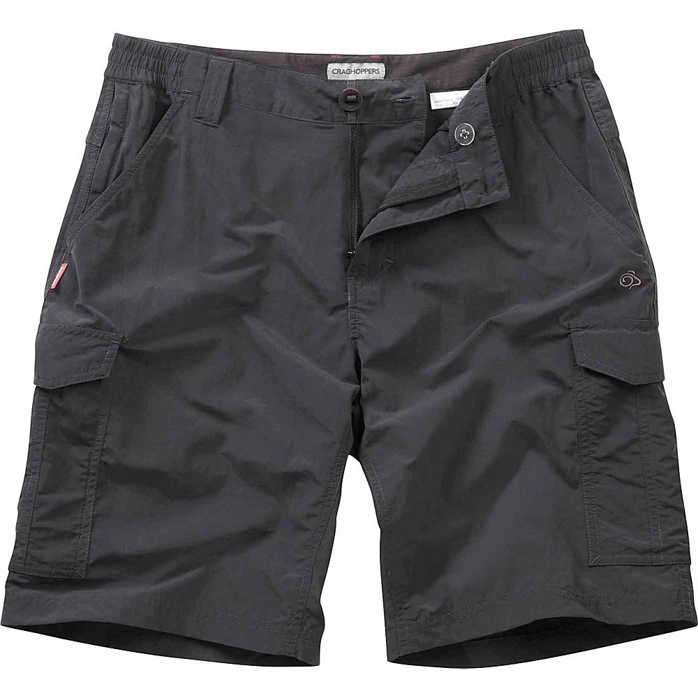 Craghoppers Nosilife Cargo Short 38 Black Pepper Craghoppers Men s Apparel