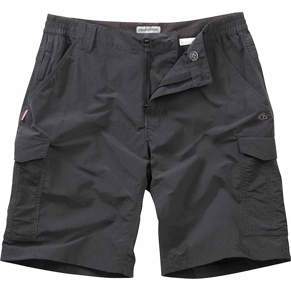 Craghoppers Nosilife Cargo Short 40 - Black Pepper - Craghoppers Mens Apparel - Apparel & Footwear, Men's Apparel