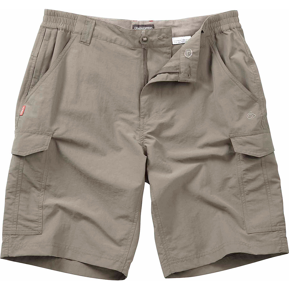 Craghoppers Nosilife Cargo Short 36 Parchment Craghoppers Men s Apparel
