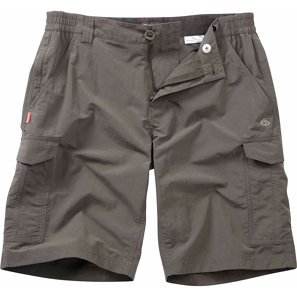Craghoppers Nosilife Cargo Short 32 Bark Craghoppers Men s Apparel