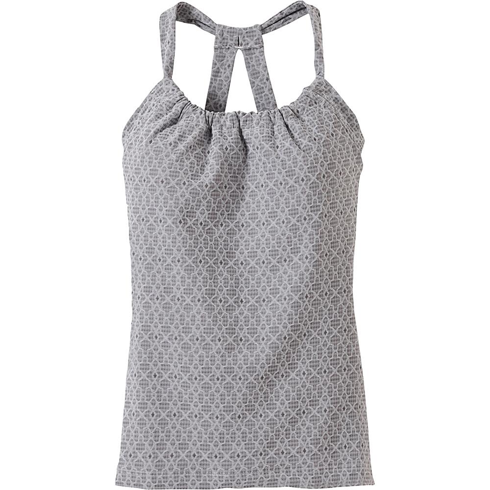 PrAna Quinn Jacquard Top XL - Silver Jacquard - PrAna Womens Apparel - Apparel & Footwear, Women's Apparel