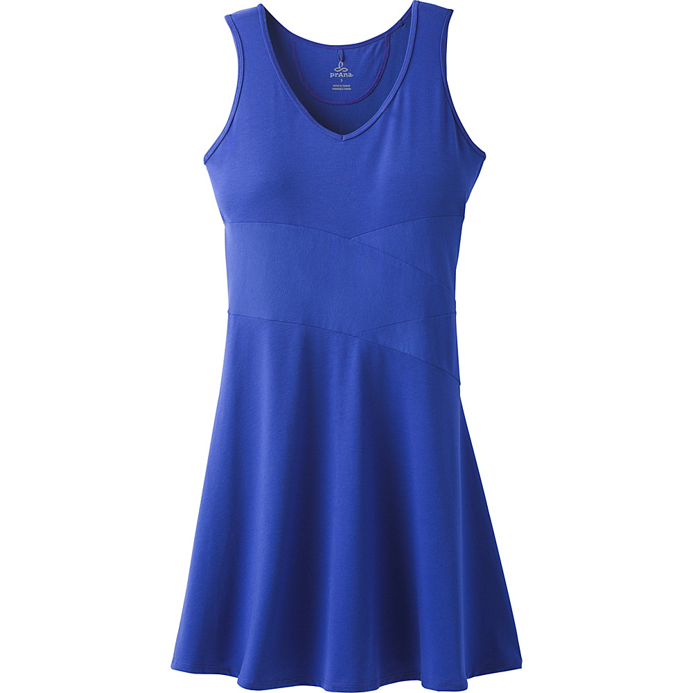 PrAna Amelie Dress S - Cobalt - PrAna Womens Apparel - Apparel & Footwear, Women's Apparel