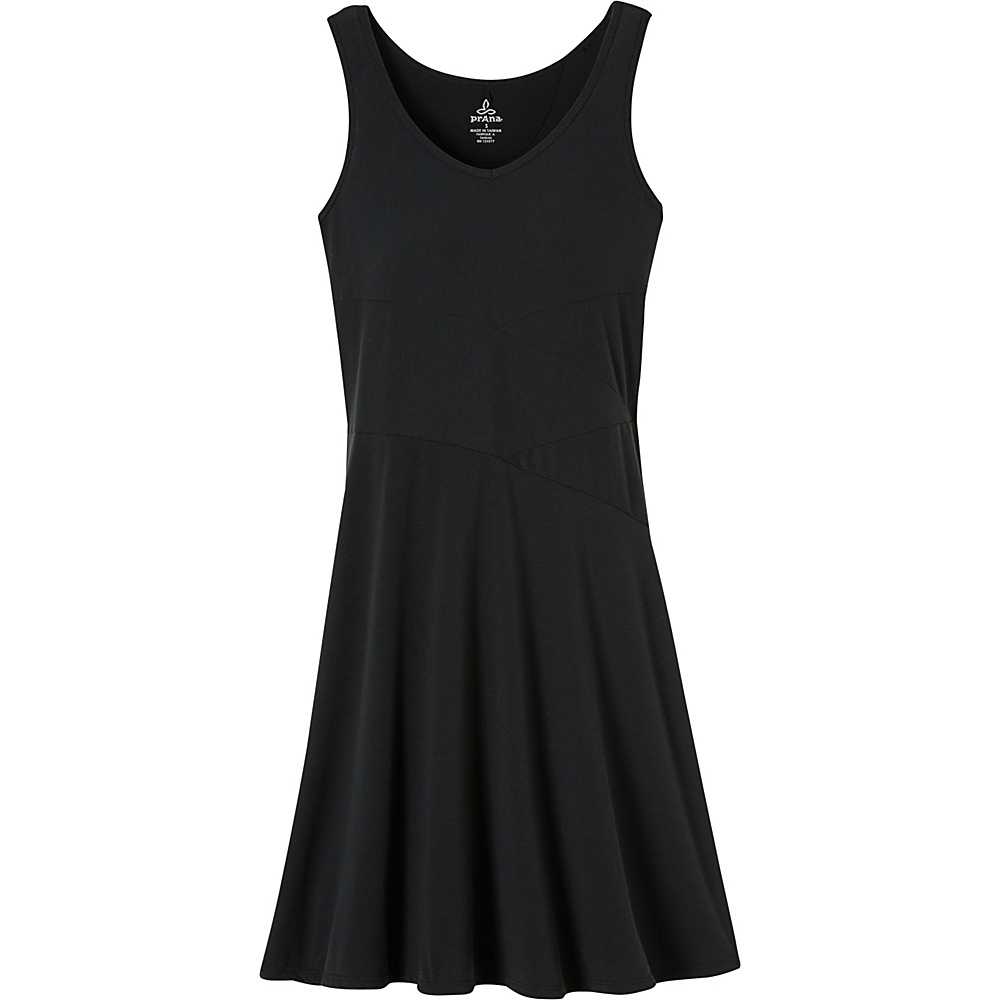 PrAna Amelie Dress S - Black - PrAna Womens Apparel - Apparel & Footwear, Women's Apparel