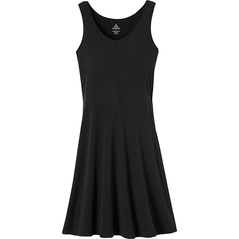 PrAna Amelie Dress L - Black - PrAna Womens Apparel - Apparel & Footwear, Women's Apparel