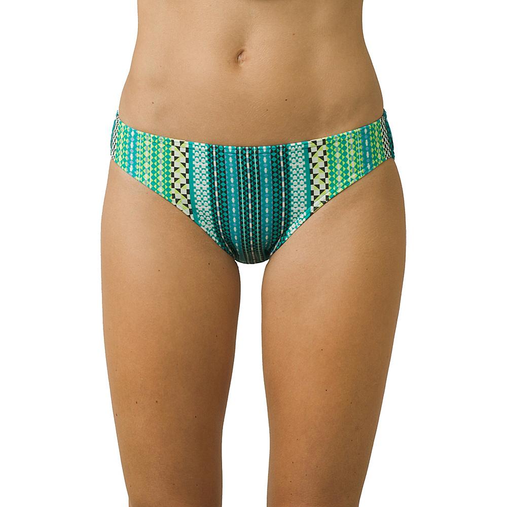 PrAna Lani Bottom L - Emerald Carnivale - PrAna Womens Apparel - Apparel & Footwear, Women's Apparel