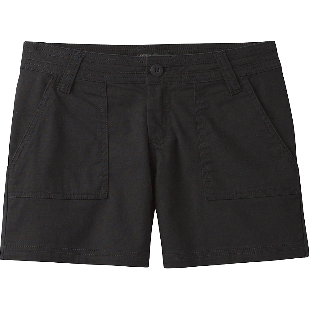 PrAna Tess Shorts 2 - Black - PrAna Womens Apparel - Apparel & Footwear, Women's Apparel