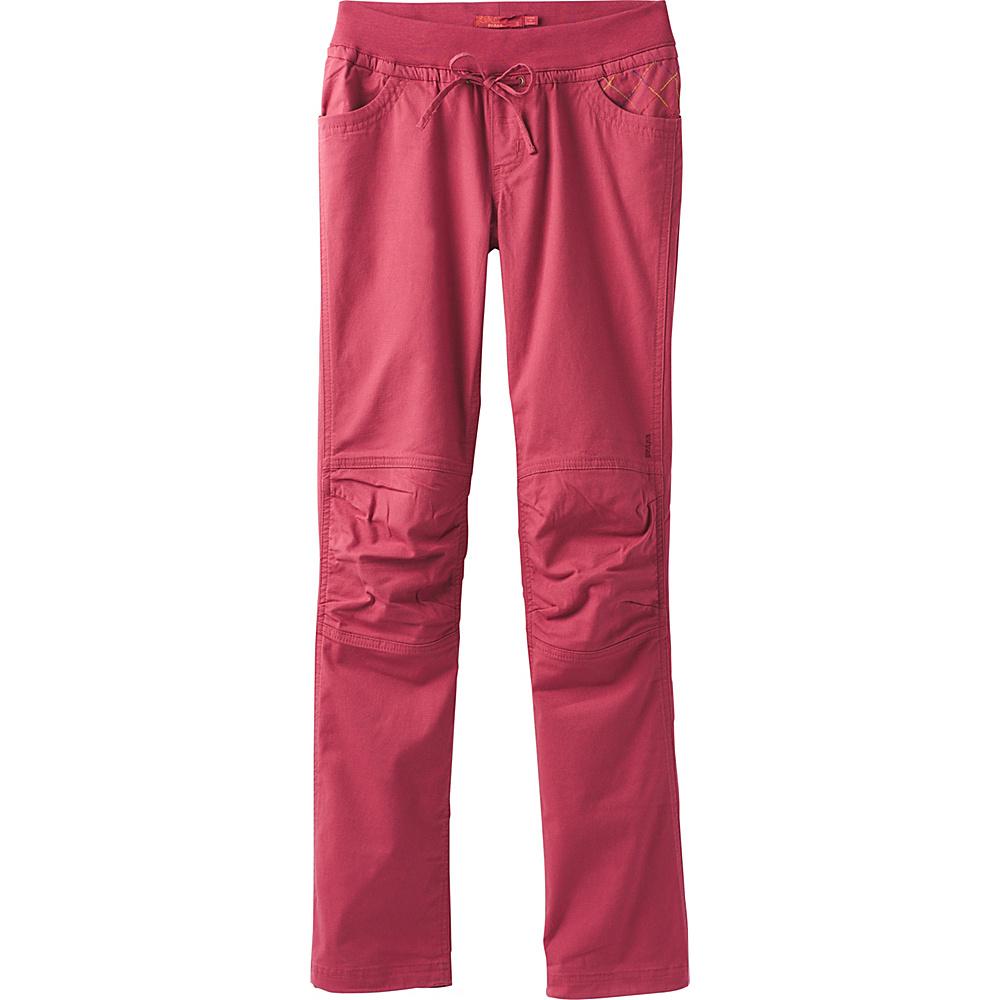 PrAna Avril Pants XS - Crushed Cran - PrAna Womens Apparel - Apparel & Footwear, Women's Apparel
