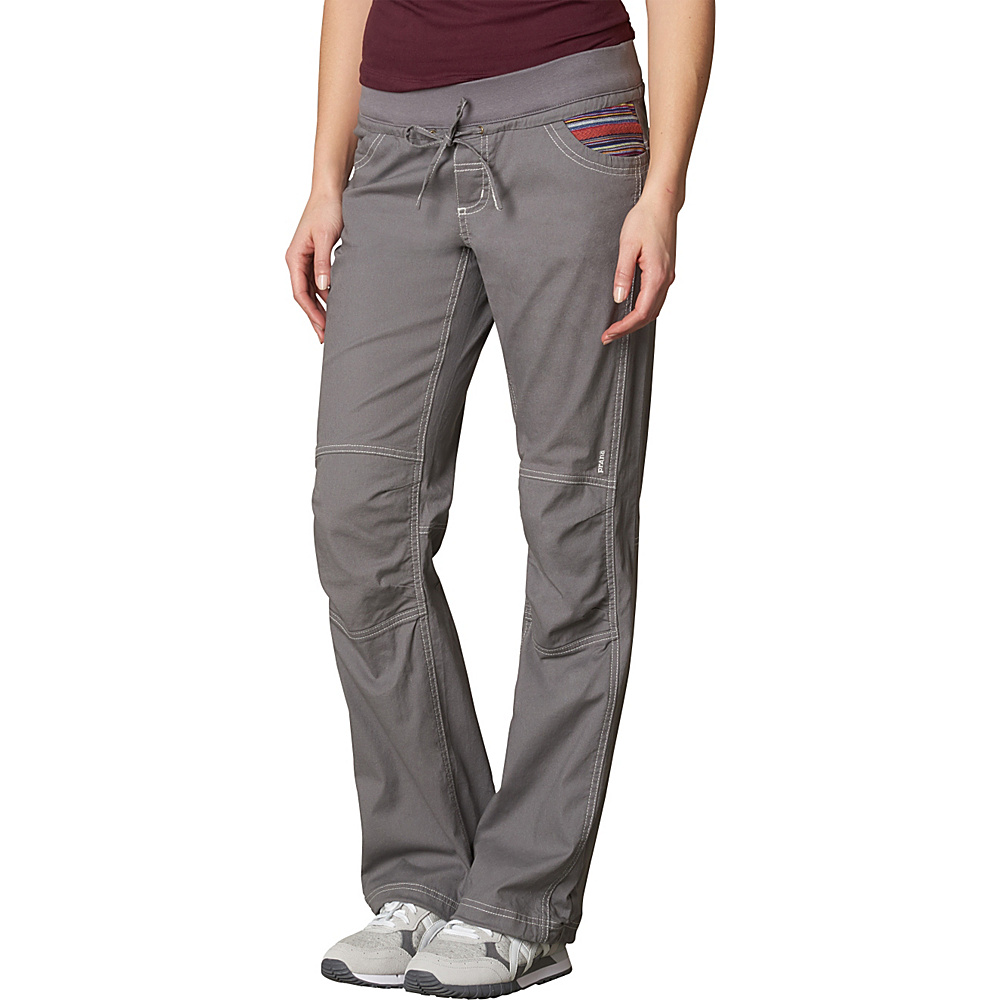 PrAna Avril Pants M - Gravel - PrAna Womens Apparel - Apparel & Footwear, Women's Apparel