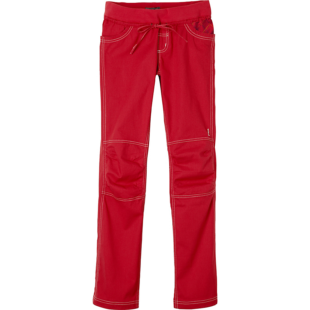 PrAna Avril Pants S - Red Ribbon - PrAna Womens Apparel - Apparel & Footwear, Women's Apparel