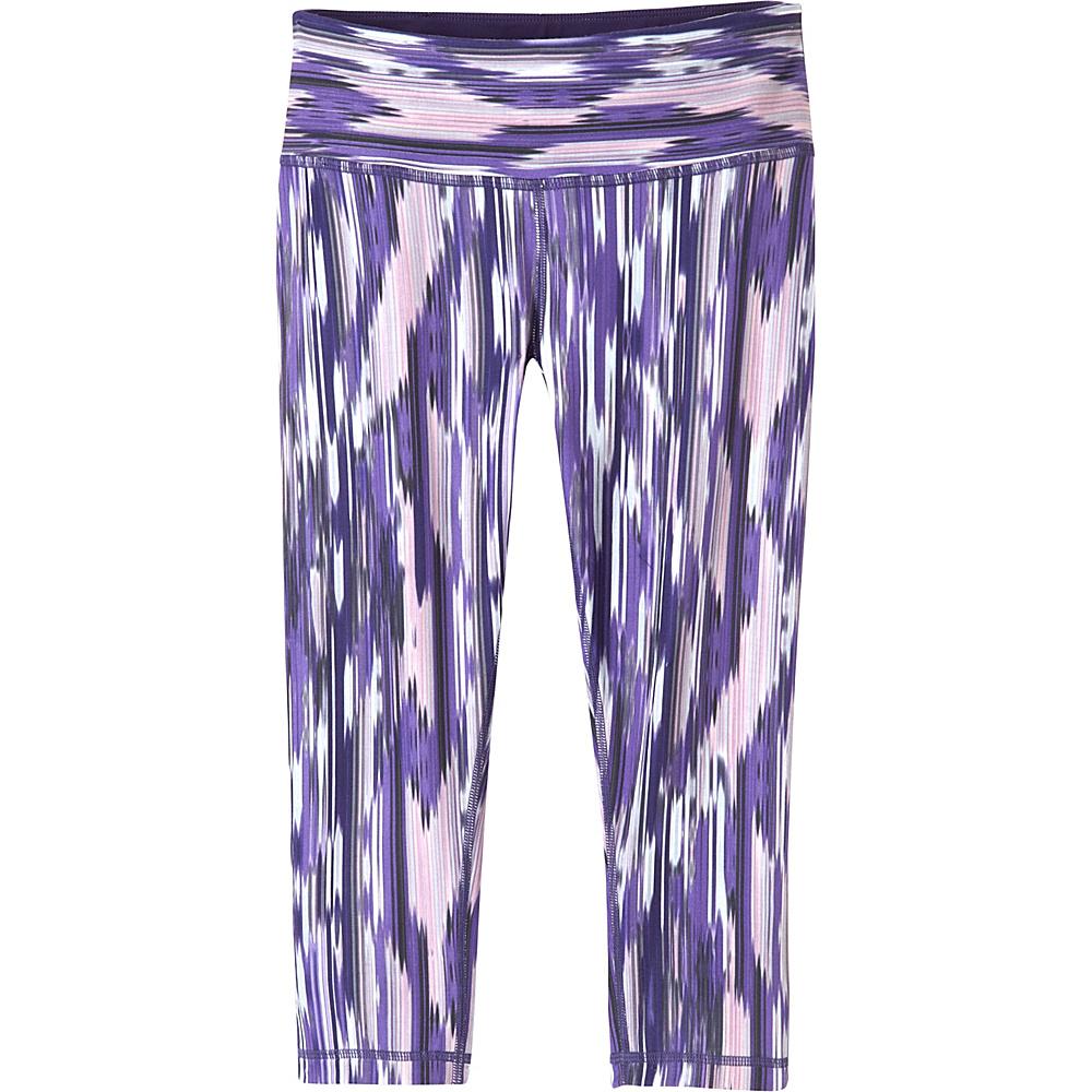 PrAna Maison Knicker XL - Violet Rainblur - PrAna Womens Apparel - Apparel & Footwear, Women's Apparel