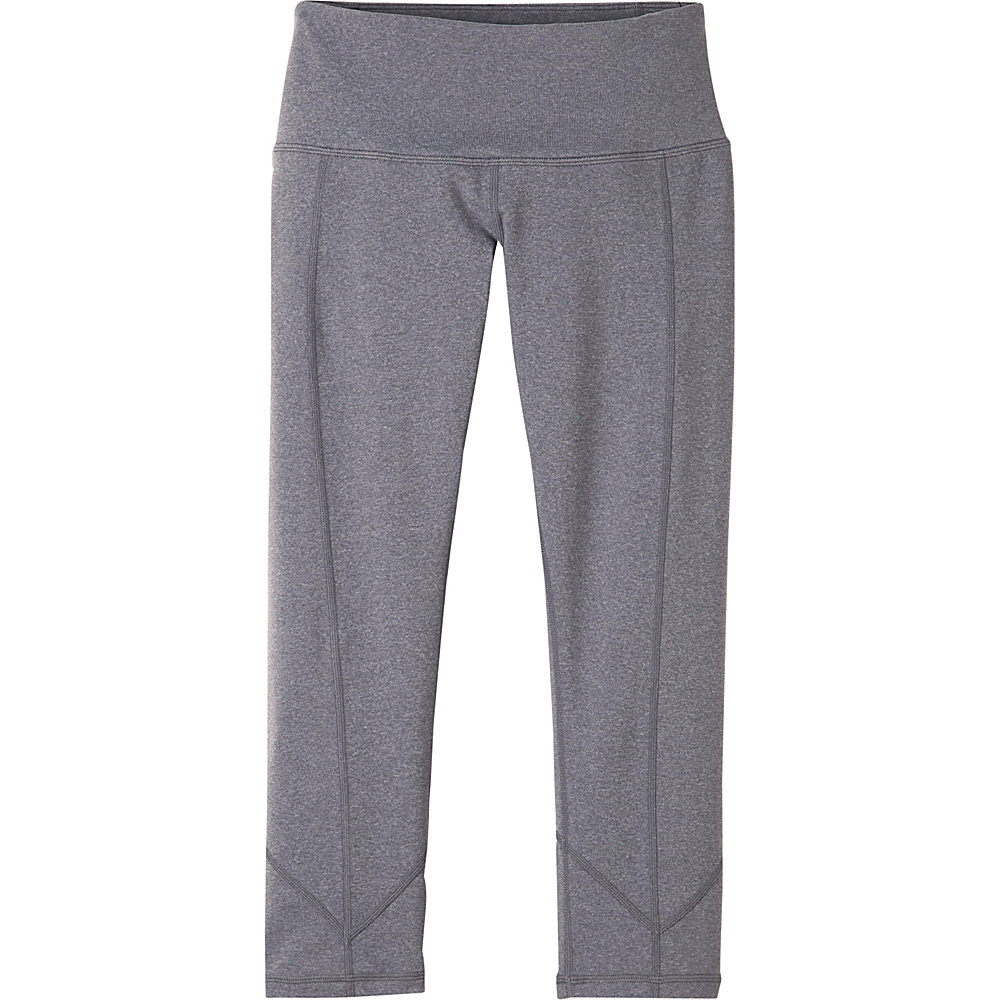 PrAna Prism Capri L - Heather Grey - PrAna Womens Apparel - Apparel & Footwear, Women's Apparel