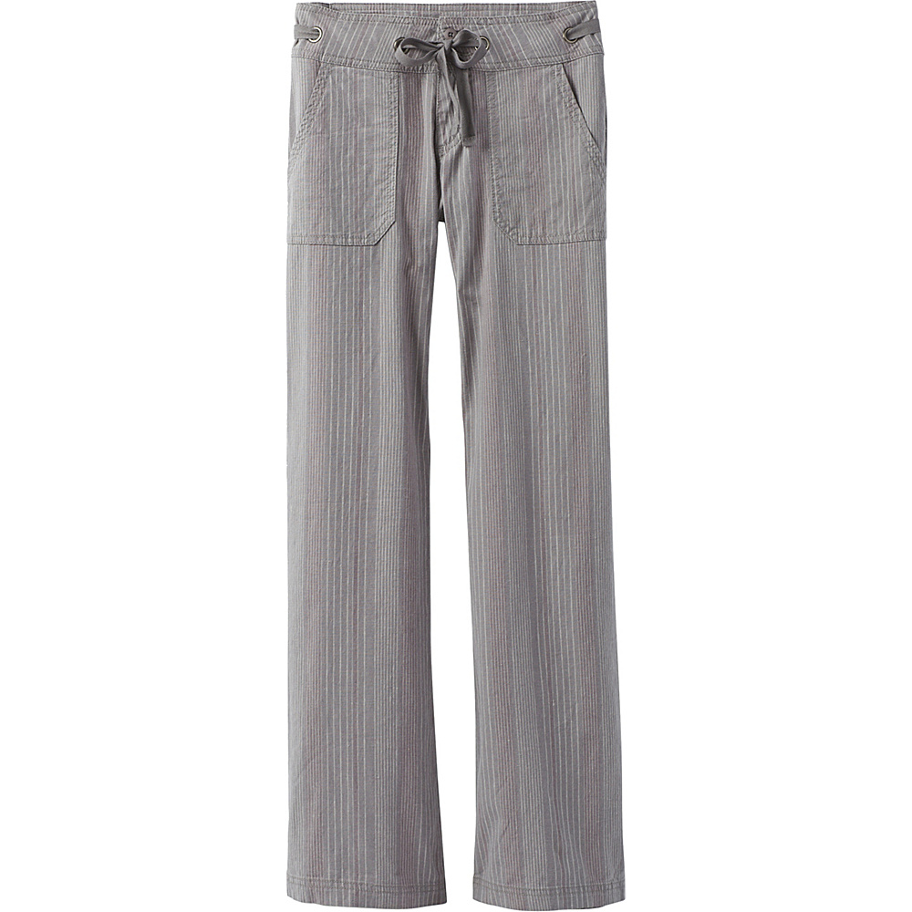 PrAna Steph Pants 4 - Gravel - PrAna Womens Apparel - Apparel & Footwear, Women's Apparel