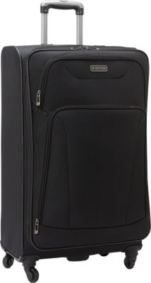 Heritage Wicker Park 28 inch Luggage Black - Heritage Softside Checked