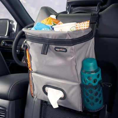 High Road Puff 'n Stuff Car Trash Bag Organizer Gray - High Road Car Travel