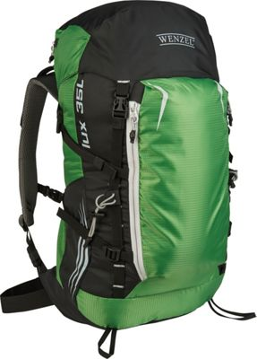 Wenzel Flux 35L Backpack Green - Wenzel Day Hiking Backpacks