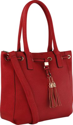 MKF Collection by Mia K. Farrow Renee Tote Bag Red - MKF Collection by Mia K. Farrow Manmade Handbags