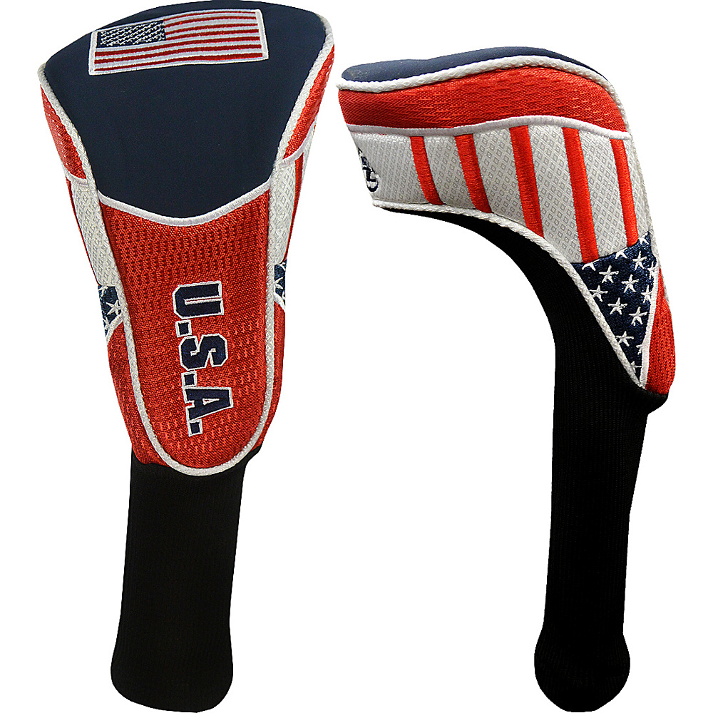 Hot Z Golf Bags Flag Driver Cover USA Hot Z Golf Bags Sports Accessories