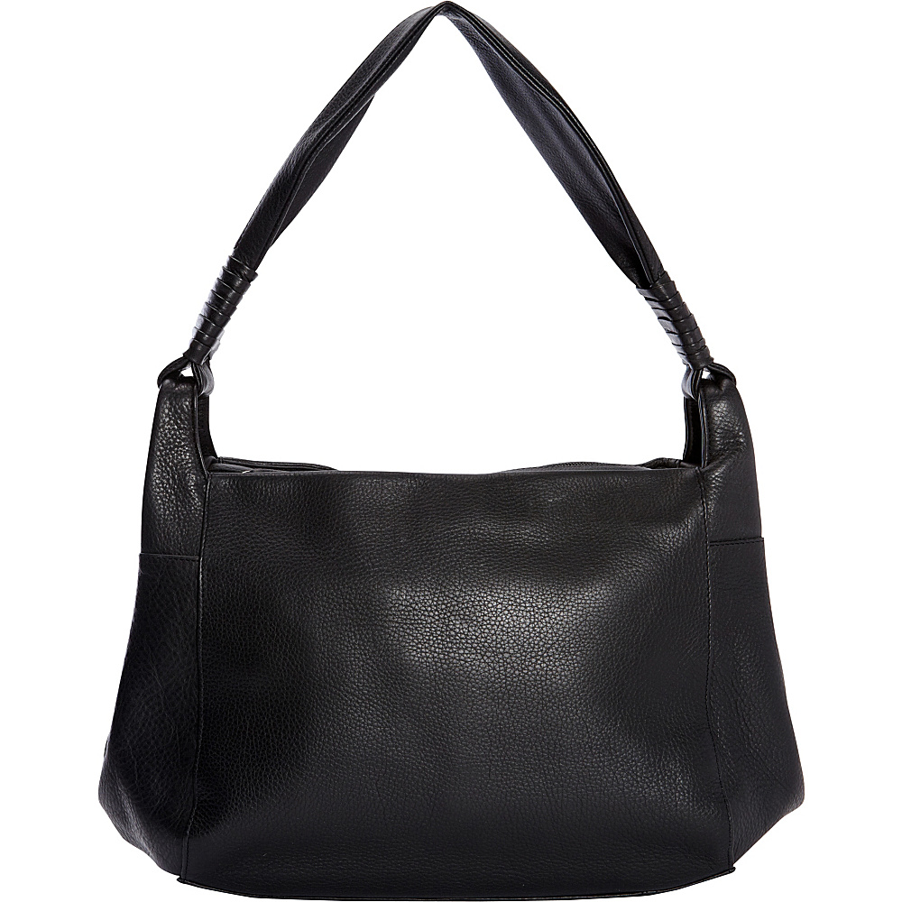 Derek Alexander Medium Hobo Shoulder bag Black - Derek Alexander Leather Handbags - Handbags, Leather Handbags