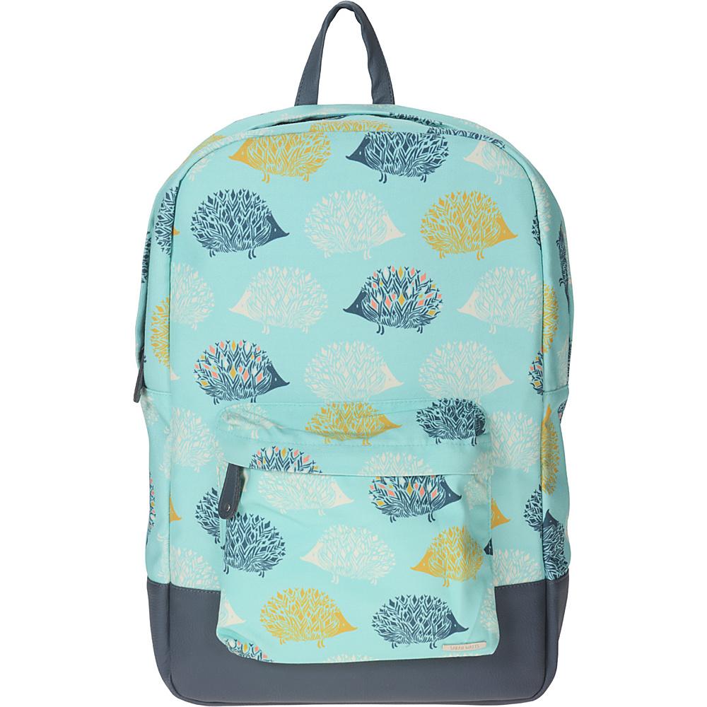 Capri Designs Sarah Watts Academy Backpack Hedgehog Capri Designs Everyday Backpacks