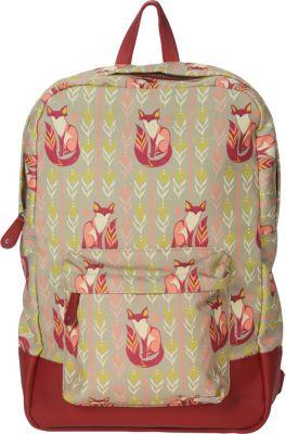 Capri Designs Sarah Watts Academy Backpack Fox - Capri Designs Everyday Backpacks