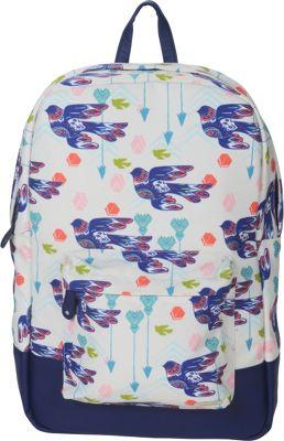 Capri Designs Sarah Watts Academy Backpack Dove - Capri Designs Everyday Backpacks