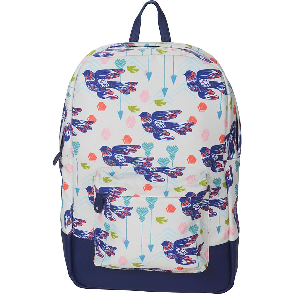Capri Designs Sarah Watts Academy Backpack Dove Capri Designs Everyday Backpacks