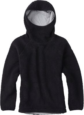Burton Womens Lynx Pullover Fleece Hoodie L - True Black - Burton Women's Apparel 10447882