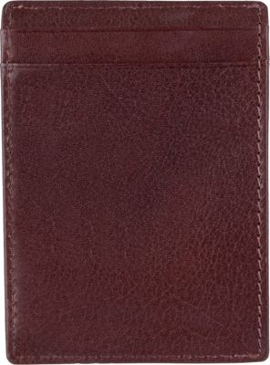 Tommy Hilfiger Accessories York Wide Magnetic Front Pocket Wallet Tan - Tommy Hilfiger Accessories Men's Wallets