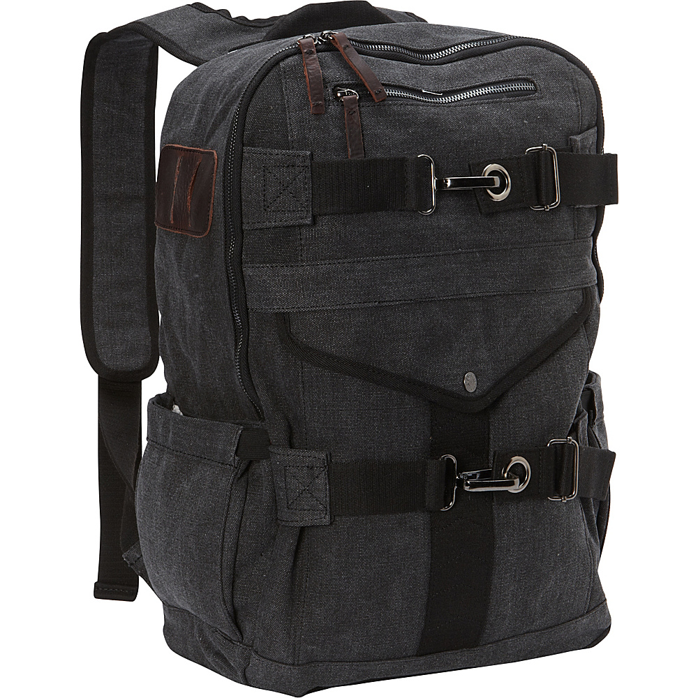 A Kurtz Cypress Backpack Black A Kurtz Business Laptop Backpacks