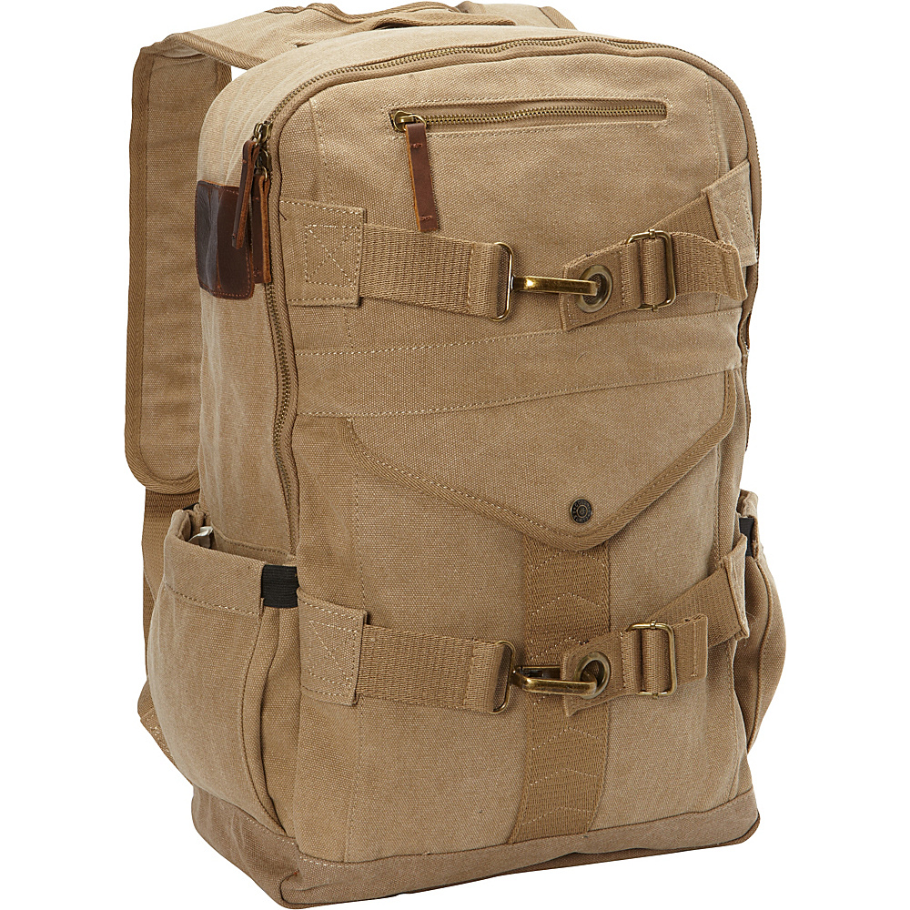 A Kurtz Cypress Backpack Tan A Kurtz Business Laptop Backpacks