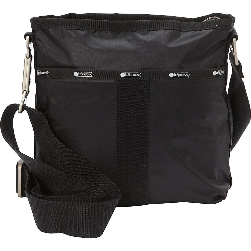 LeSportsac Essential Crossbody True Black LeSportsac Fabric Handbags