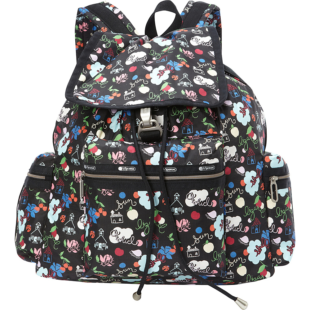 LeSportsac 3 Zip Voyager Backpack School's Out - LeSportsac Everyday Backpacks