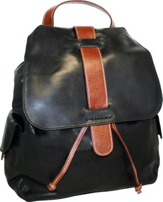 Nino Bossi Bonnie the Kid Laptop Backpack Black - Nino Bossi Laptop Backpacks