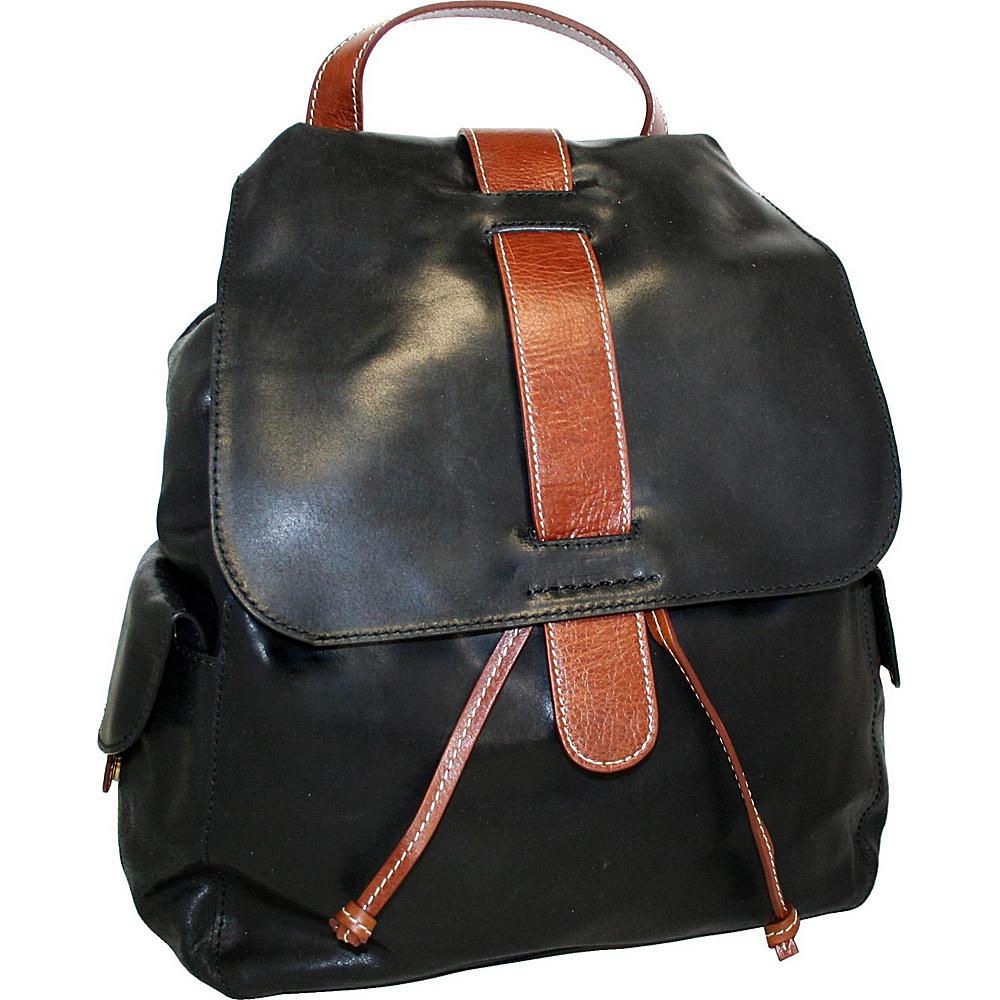 Nino Bossi Bonnie the Kid Laptop Backpack Black - Nino Bossi Business & Laptop Backpacks