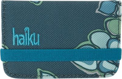 Haiku RFID Mini Wallet Hydrangea Print - Haiku Women's Wallets