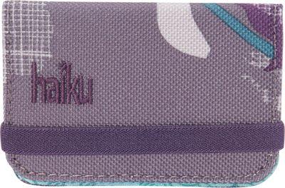 Haiku RFID Mini Wallet Flower Fall Print - Haiku Women's Wallets