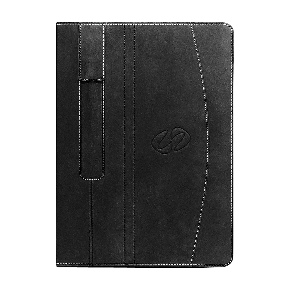 MacCase Premium Leather iPad Pro Folio 9.7 Black - MacCase Electronic Cases
