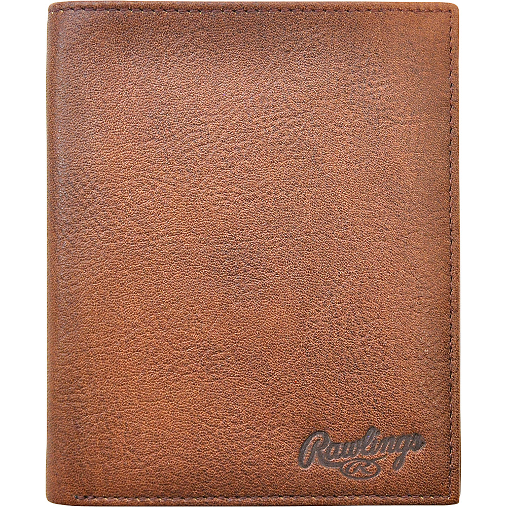 Rawlings Triple Play Executive Wallet Cognac Rawlings Men s Wallets