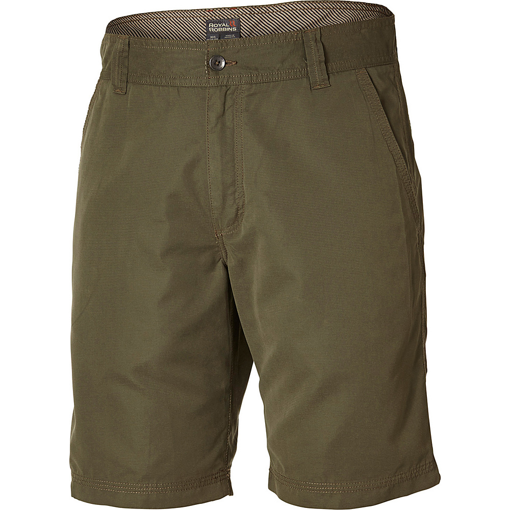 Royal Robbins Convoy Short 10 42 - 10in - Light Olive - Royal Robbins Mens Apparel - Apparel & Footwear, Men's Apparel