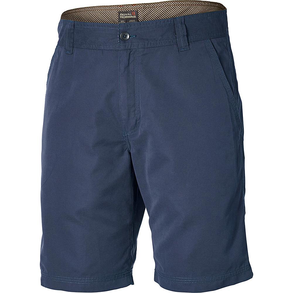 Royal Robbins Convoy Short 10 34 - Deep Blue - Royal Robbins Mens Apparel - Apparel & Footwear, Men's Apparel