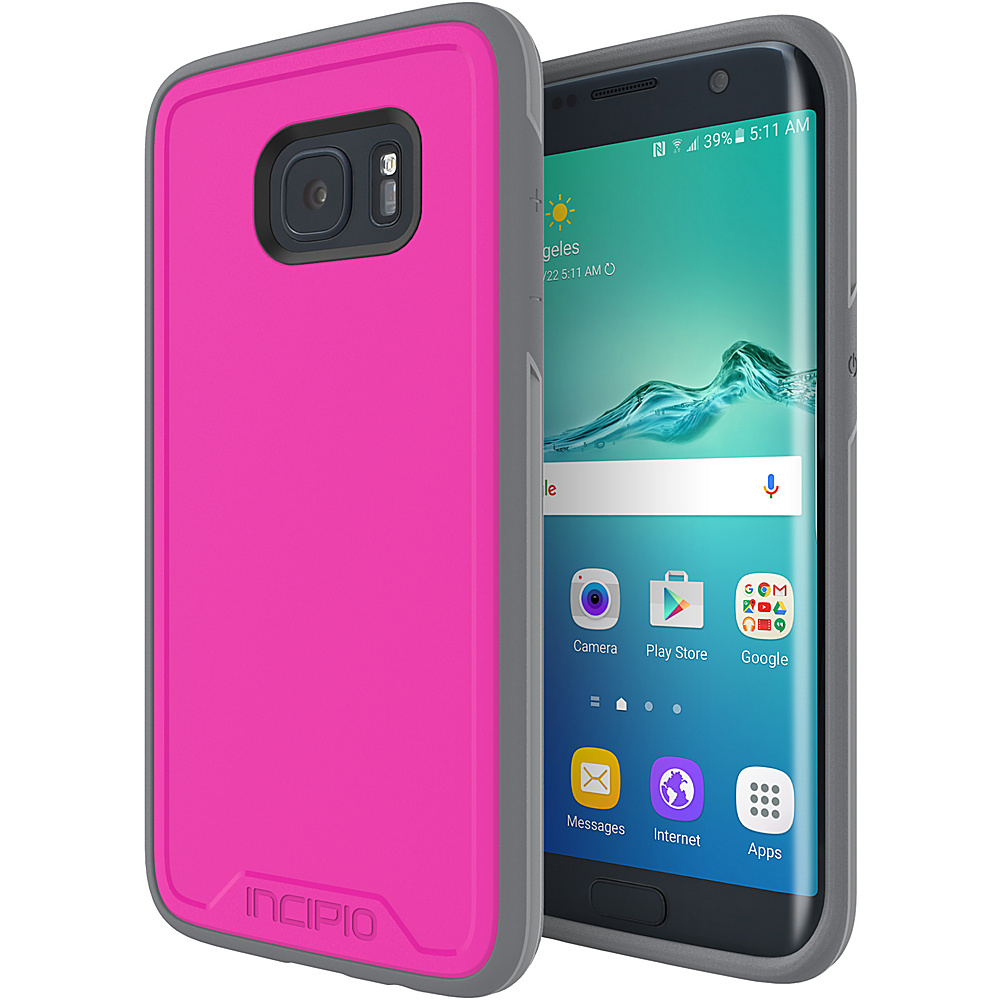 Incipio Performance Series Level 3 for Samsung Galaxy S7 Edge Pink/Gray - Incipio Electronic Cases - Technology, Electronic Cases