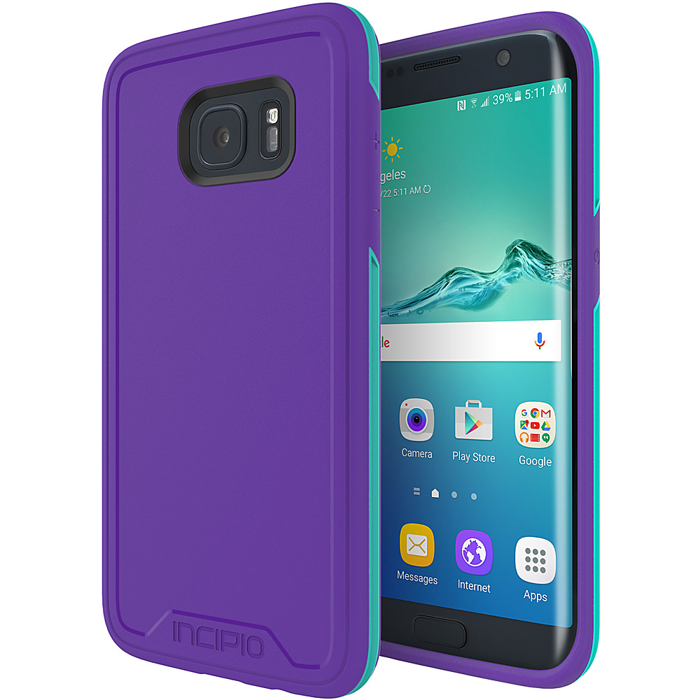 Incipio Performance Series Level 3 for Samsung Galaxy S7 Edge Purple/Teal - Incipio Electronic Cases - Technology, Electronic Cases
